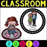 Class Rules Posters in Two Sizes