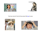 Class Rule Prezi with Memes