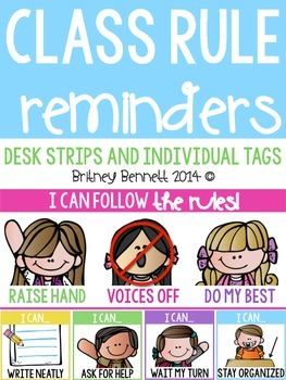 Class Rule Reminders