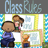 Class Rules Mini Posters