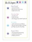 Class Rules be a super STAR