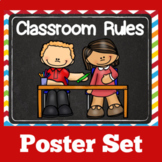 Class Rules Posters Kindergarten | Classroom