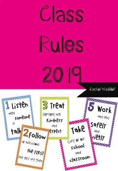 Class Rules 2019