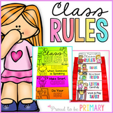 Classroom Rules Pocket Chart Cards for Classroom Managemen