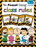 Class Rules Snoopy Charlie Brown The Peanuts Gang Theme In