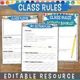 Editable Class Rules and Activities