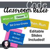 Hour of Code:  Coding Style Class Rules