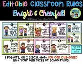 Class Rules: Bright and Colorful Theme Editable