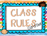 Class Rules Card Set