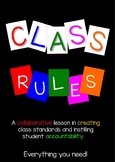 Class Rules Collaboration Lesson