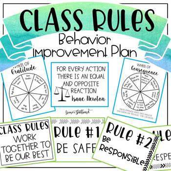 Class Rules & Consequence Spinner