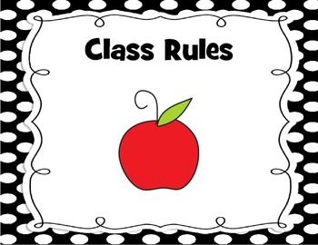 Class Rules Display