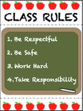 Class Rules (Editable)