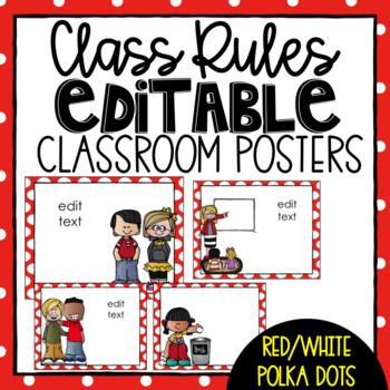 Class Rules- Editable
