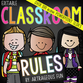 Class Rules | Editable Classroom Rules | PowerPoint slides