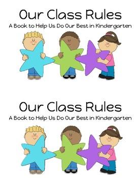 Class Rules Emergent Reader