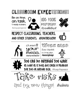 Class Rules / Expectations