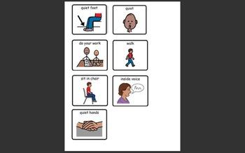 Class Rules File Folder