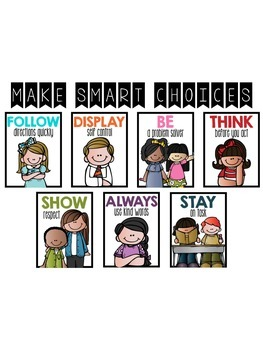 Class Rules--Make Smart Choices