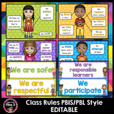 Class Rules - PBIS/PBL style