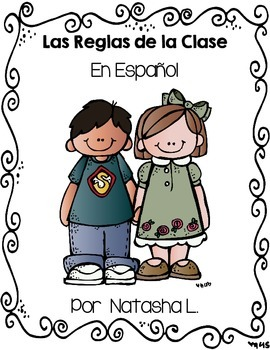 Class Rules Page-Sized Posters (Spanish)