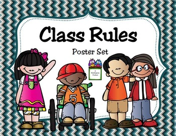 Class Rules Poster Set