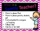 Class Rules Posters, Christian