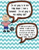 Class Rules Posters for Middle or High School! EDITABLE!