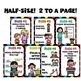 Class Rules! Primary Edition! Half-size Posters!