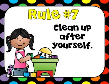 Class Rules!  Primary Edition! Posters!
