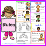 Class Rules & Procedures Posters with Student Rug Rules Book