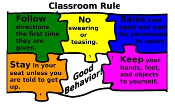 Class Rules Puzzle
