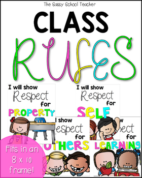 Class Rules (Respect)