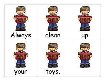 Class Rules Sentences