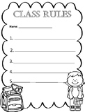 Class Rules Student Template
