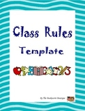 Class Rules Template