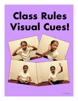 Class Rules Visual Cues