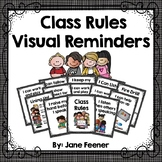Class Rules - Visual Reminder Posters
