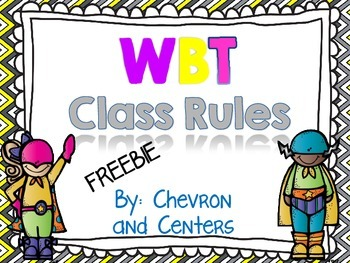 Class Rules- WBT style