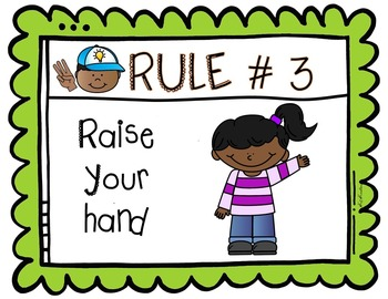 Class Rules Wall Set
