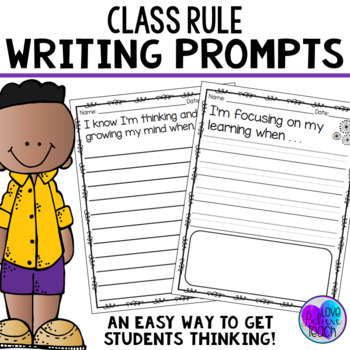 Class Rules Writing Pages