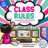 *Class Rules - Posters - Activities Inspired by Ron Clark's Essential 55