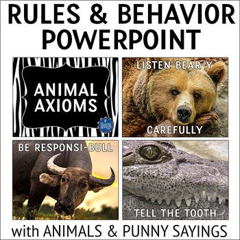Class Rules & Behavior PPT