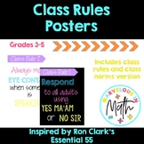 Class Rules and Class Norms Posters