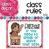 Class Rules and Manners with Student Book