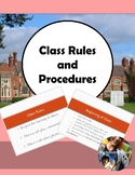Class Rules and Procedures (Editable)