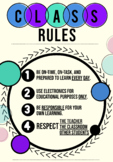 Class Rules for Middle School and Above!