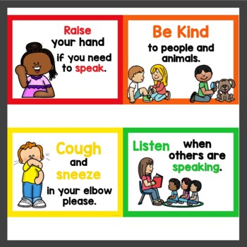 Class Rules in primary and white