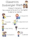 Class Scavenger Hunt