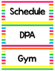 Class Schedule